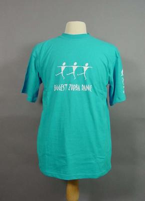 T-shirt - 'Biggest Zorba Dance' produced for the 2004 Olympic Games by the VOC