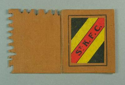 Membership ticket, St Kilda FC 1918