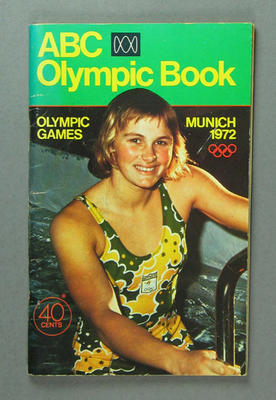 """Book, """"ABC Olympic Book Munich 1972"""""""