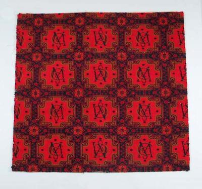 Carpet, Melbourne Cricket Club logo