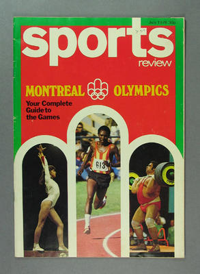 "Magazine, ""Sports Review"" July 1976"