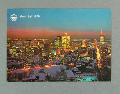 Postcard, 1976 Montreal Olympic Games