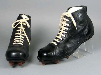 Football boots, Lou Richards Autograph brand c1953