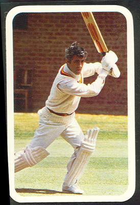 1979/80 Ardmona Collector Cards Series II International Cricket Mike Brearley trade card