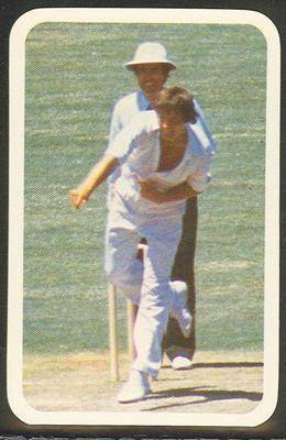 1979/80 Ardmona Collector Cards Series II International Cricket John Embury trade card