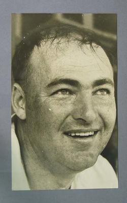 Portrait photograph of cricketer Peter Burge