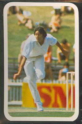 1979/80 Ardmona Collector Cards Series II International Cricket Mike Hendrick trade card