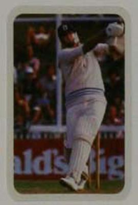 1979/80 Ardmona Collector Cards Series II International Cricket Tony Greig trade card