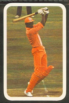 1979/80 Ardmona Collector Cards Series II International Cricket Richard Austin trade card