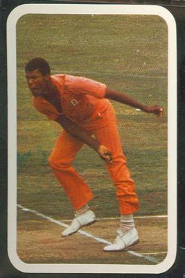 1979/80 Ardmona Collector Cards Series II International Cricket Colin Croft trade card; Documents and books; M12798.43