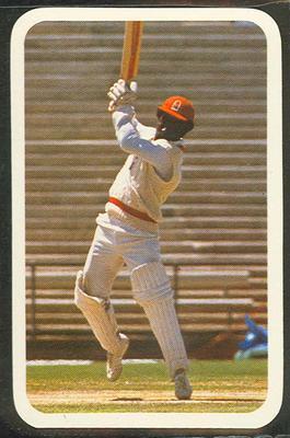 1979/80 Ardmona Collector Cards Series II International Cricket Roy Fredericks trade card