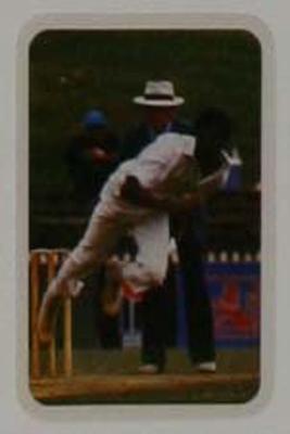 1979/80 Ardmona Collector Cards Series II International Cricket Michael Holding trade card