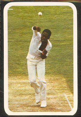 1979/80 Ardmona Collector Cards Series II International Cricket Collis King trade card; Documents and books; M12798.50