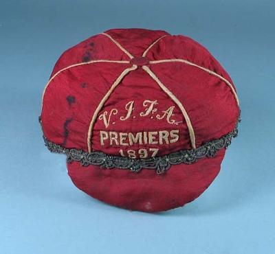 Cap, VJFA Premiers 1897