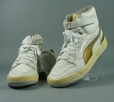 """Pair of Puma """"Luft"""" basketball shoes"""