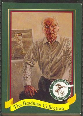 1995 Sanitarium (Weet-Bix) The Bradman Collection trade card 19/20