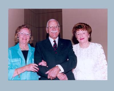 Photograph of Shirley Strickland & Marjorie Jackson, 1997
