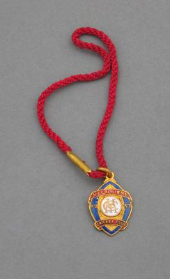 Melbourne Cricket Club country membership medallion, season 1952-53