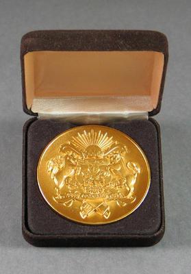 Medallion no. 86/100  - Calgary '88, Host City, Winter Olympic Games
