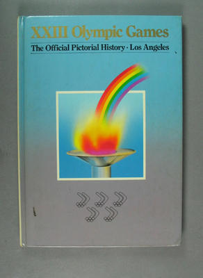 Book, XXII Olympic Games Official Pictorial History