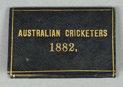 Admission ticket, Australian cricket fixtures 1882