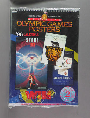 Calendar, Olympic Games Centenary Posters 1956-1992