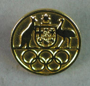 Round pin, Australian Olympics