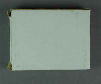 Cardboard box for photograph frame