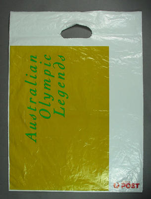 Plastic bag, Australia Post Australian Olympic Legends