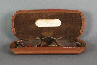 Glasses worn by Robert Flower, aged 4