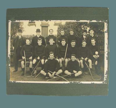 Photograph of Essendon lacrosse team, early twentieth century; Photography; 1987.1857.4