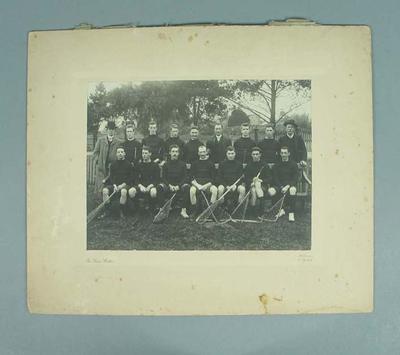 Photograph of Essendon lacrosse team, early twentieth century; Photography; 1987.1857.5
