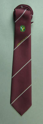 "Tie, ""Australian Cricket Board - Australia v West Indies 1988-89""; Clothing or accessories; M10147"