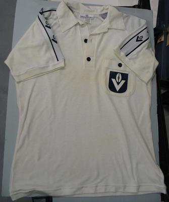 Umpiring shirt worn by Murray Williams