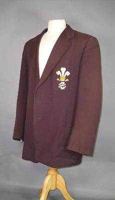 Blazer worn by Alec Bedser, Surrey County Cricket Club