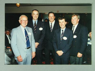 Photograph of MCC Baseball Section past Chairmen, Nov 1993