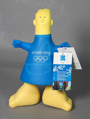 Money box, 2004 Olympic Games mascot - Phevos