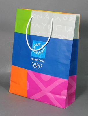 Paper bag, 2004 Athens Olympic Games design