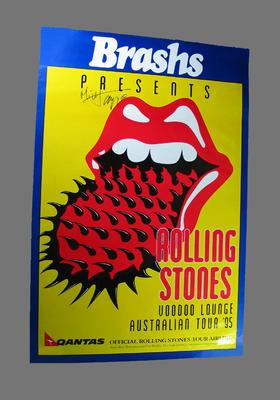 Poster, Rolling Stones - Voodoo Lounge Australian Tour 1995