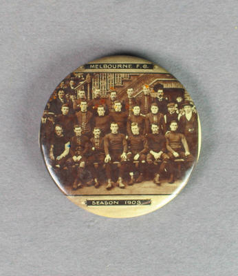 Badge, image of Melbourne FC - 1903