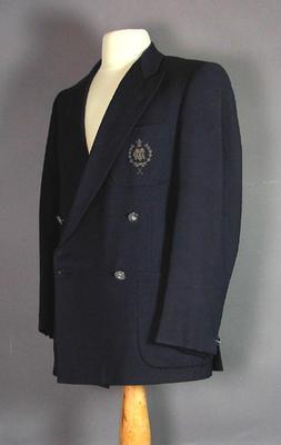 Melbourne Cricket Club blazer, worn by Ian McDonald