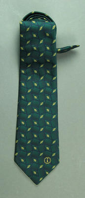 Tie worn by Mark Waugh, 1998 Commonwealth Games