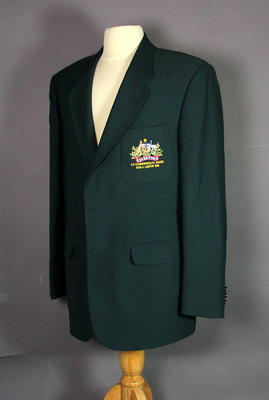 Blazer worn by Mark Waugh, 1998 Commonwealth Games