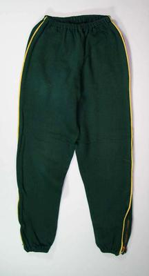 1956 Olympic Games Australian team official tracksuit pants, worn by Doris Carter
