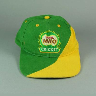 Cap, Milo Cricket; Clothing or accessories; M13095