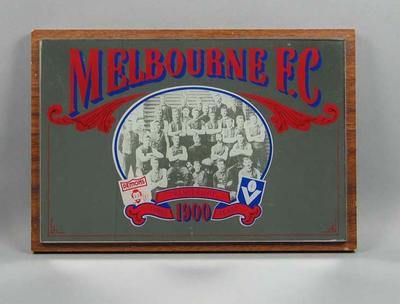 Mirror, features image of Melbourne FC 1900 VFL Premiership team