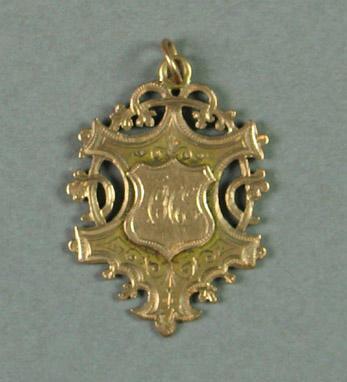 Medal presented by WSSSC in 1911-12, won by C H Esler
