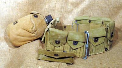 Ammunition belt, WWII style