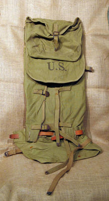 US Army backpack, WWII style