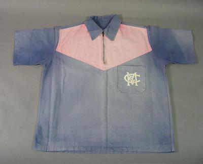 MCC Hockey Section shirt, worn by Stewart Jamieson